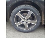 Brand new momo alloy wheels and tyres citroen/peugeot