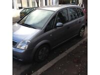 Vauxhall Meriva 1.6 clean body mot not corsa quick sell
