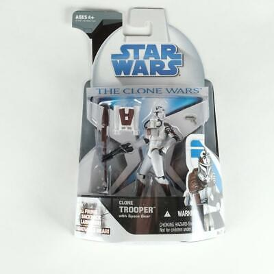 Star Wars The Clone Wars Clone Trooper with Space Gear No 21 Hasbro 2008