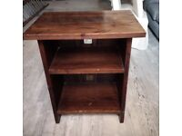 beautiful heavy solid wood media or TV cabinet or stand or unit can deliver
