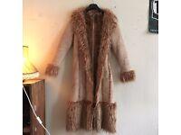 Fur Vintage Coat