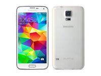 Samsung Galaxy S5 White (Unlocked) Smartphone - Good Condition