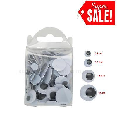 Googly Googly (150pcs Moving Wiggly Wobbly Googly Eyes for Bear & Doll & Scrapbooking Diy)