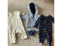 Baby clothes 0-3 months. Ted Baker /Gap