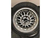 4x100 14inch BBS alloy wheels mk1 mk2 VW etc