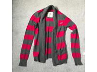 Stripy Hollister Cardigan XS