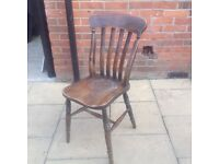 Solid wood chair (one)