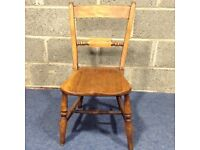Beautiful wooden chair, ideal for upcycling