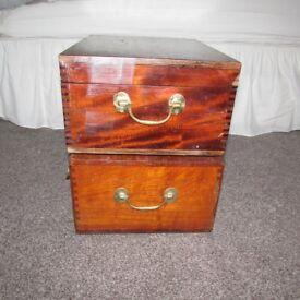 Vintage wooden Trunks