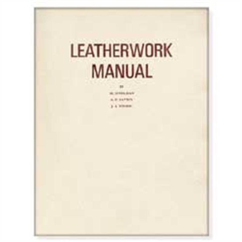Leather Work Crafting Instruction Manual Stohlman 61891-00 by Tandy Leather