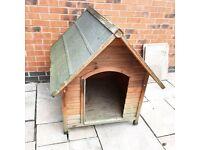 Wooden medium Trixie Dog Kennel
