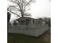 Static caravan for sale in the New Forest on Bashley, close to Christchurch