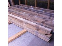 Pallet Slats - denailed and ready for reuse