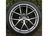 Lexus is250 Alloy Wheels and Tyres.