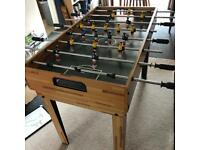 Table football, ping pong, air hockey combined