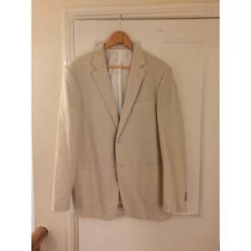 Feraud beige jacket size large