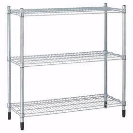 IKEA OMAR Metal Shelving Unit 6 Shelves