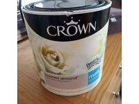 Crown toasted almond paint