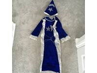 Wizards dressing up outfit size medium 110-120cm