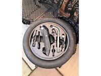 Audi A3/VW spare tyre space saver