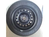 Citreon C2 wheel and tyre 175/65R14 82T
