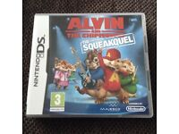 Nintendo DS Alvin and the Chipmunks game