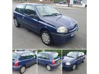 Renault clio 1.1cc with long mot