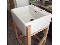 Belfast sink with frame for sale £40 ono