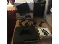 PS3 120gb boxed with 6 games