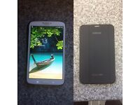 "Galaxy tab 3 (8"")(16GB) with charger and protective case"