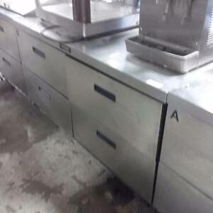 Delfield Refrigerated Back Counter w/ Drawers - iFoodEquipment.ca