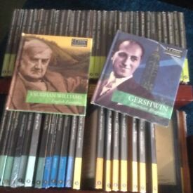 Classic Composers Collection. 55 CDs. NEW unopened.
