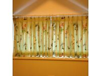 Lined Pattern Curtains