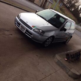 Toyota Starlet SR Extremely High Grade, Lots of OEM EXTRA's (not glanza gt starlet)