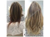 HAIR EXTENSIONS EAST LONDON, NO DEPOSIT ALL COLOURS IN STOCK, FLEXIBLE HOURS, CREDIT CARDS ACCEPTED