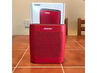 Bose Soundlink Colour Red Bluetooth Speaker