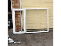New pvc window frame