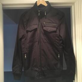 Zara Navy bomber jacket size M worn once
