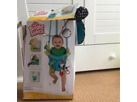 Bright starts baby deluxe bounce and spring door jumper