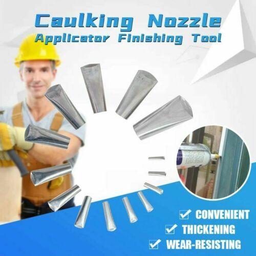 14pcs Finisher Caulking Nozzle Kitchen Push Rod Stainless St