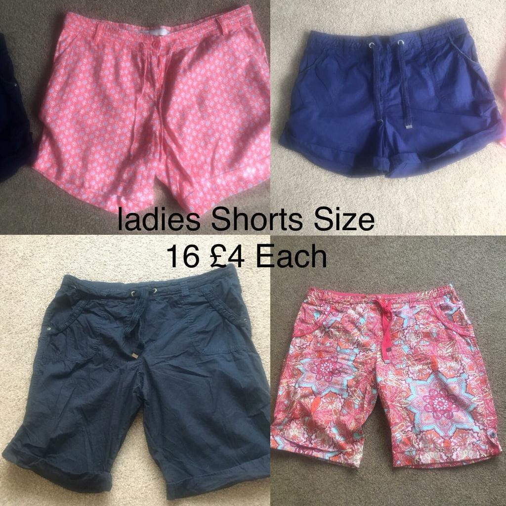 Shorts Ladies Shorts Size 16 Women's Clothing