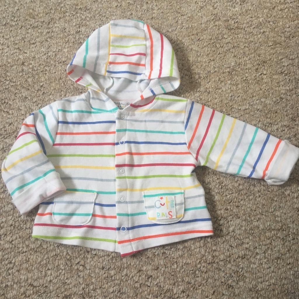 15407b25540f Babaluno baby multicoloured rainbow striped cardigan jacket boy girl ...