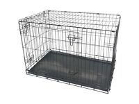 """Wanted Large Dog Crate (36""""/92cm)"""