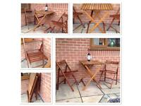 Garden Table and Chairs . Bistro set . Patio set