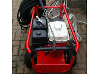 Honda GX390 Pressure Washer Surface Cleaner and Hoses