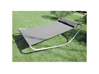 SINGLE ROCKING HAMMOCK LOUNGER SUN BED