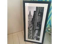 Set of 2 New York Prints - includes framework - must go