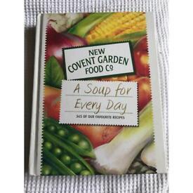 Covent Garden soup cookbook brand new
