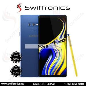 Brand New Samsung Galaxy Note 9 128GB Factory Unlocked Black Blue Purple and Copper