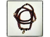 Amethyst Mala Beads - bracelet/necklace